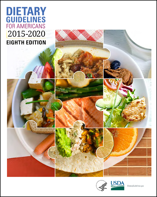 2015-2020 Dietary Guidelines cover