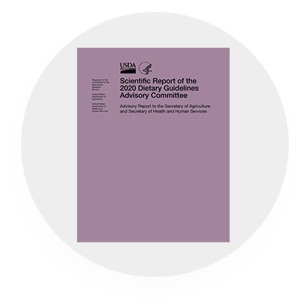 Scientific Report of the 2020 Dietary Guidelines Advisory Committee Purple Logo
