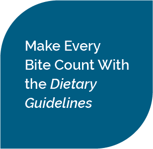make every bite count with the dietary guidelines